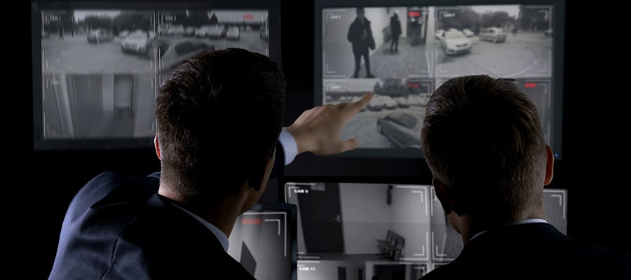 Monitoramento de cameras de seguranca