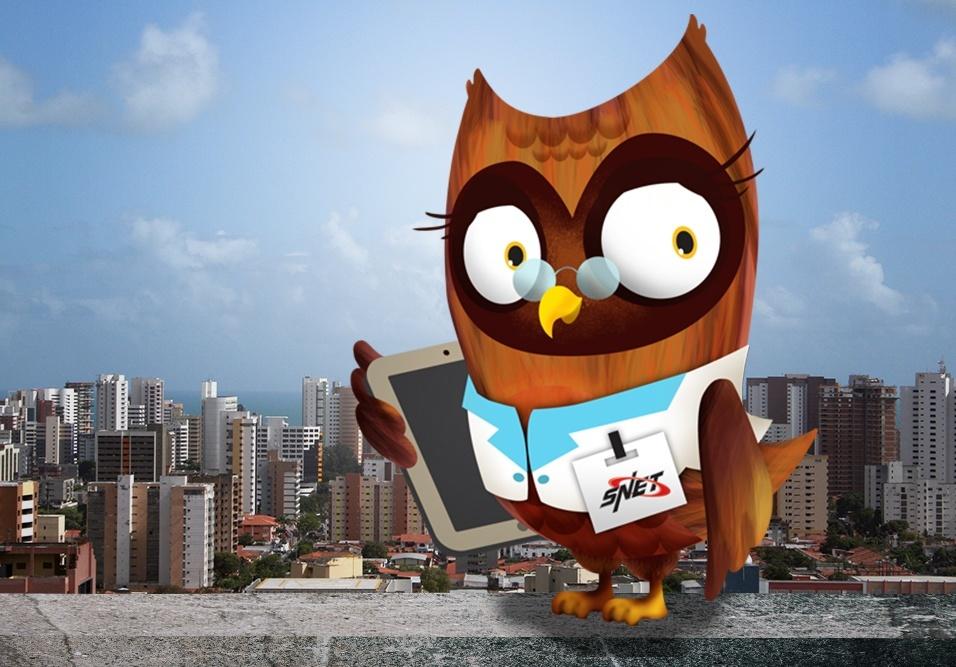 Mascote do SíndicoNet ajudará no processo de cotações com fornecedores