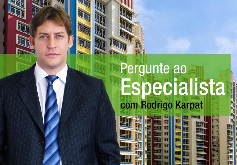 Rodrigo Karpat também respondeu sobre barulho da rua e vazamento essa semana