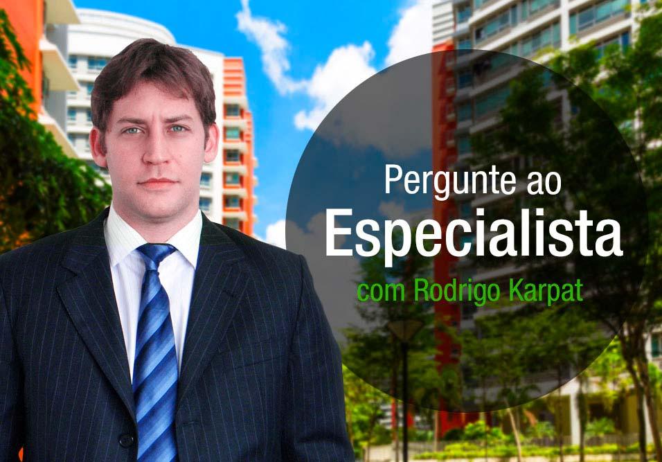 Área de lazer e decoração do hall também foram temas respondidos por Rodrigo Karpat