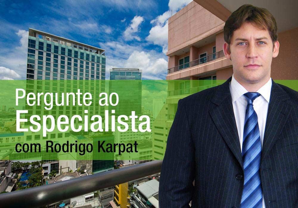 Essa semana, Rodrigo Karpat fala  sobre uso dos corredores,  fachada e dívida com a administradora