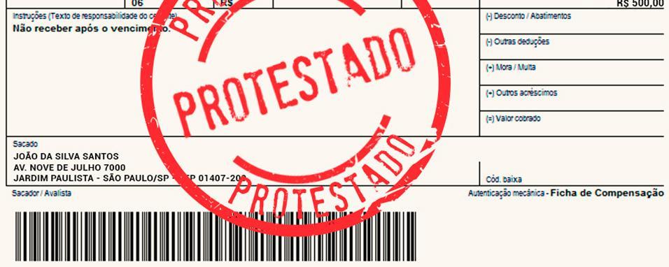 Protesto de devedores