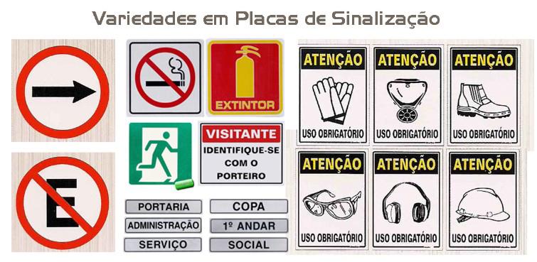Foto - PLACAS DE SINALIZAÇÃO EM ALUMÍNIO E POLI, DIVERSOS TAMANHOS E UMA AMPLA LINHA PARA CONDOMÍNIOS, HOTEIS, ESCRITÓRIOS, ETC.