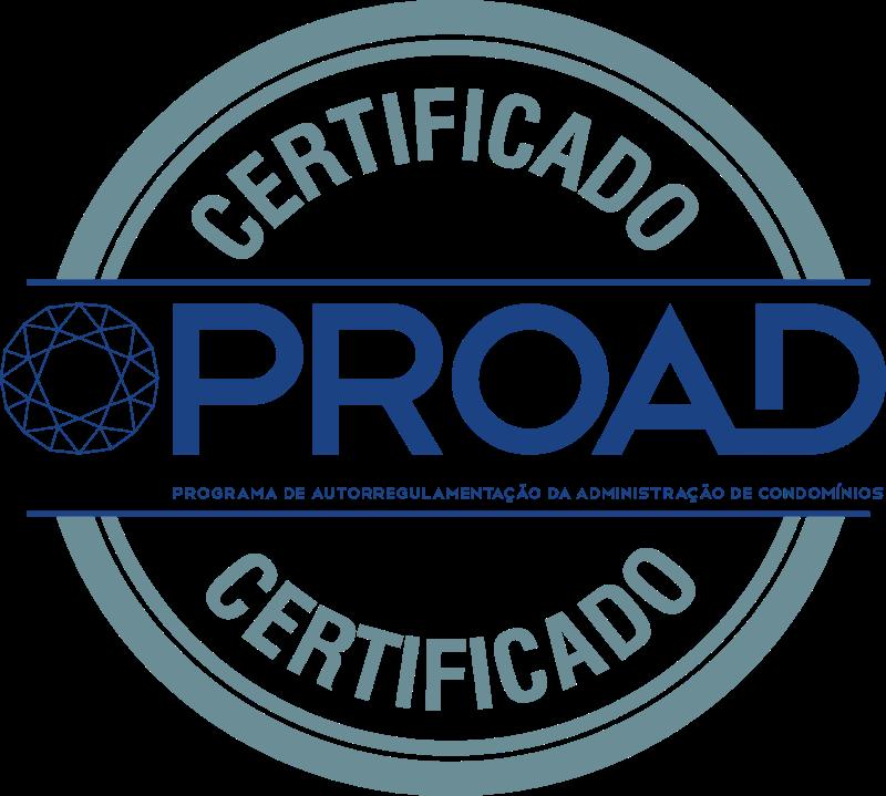 Foto - Selo Proad - Programa de Autorregulamentação da Administração de Condomínios.