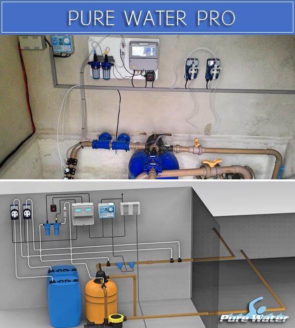 Foto - INSTALAÇÃO PROJETADA e INSTALAÇÃO EXECUTADA PURE WATER PRO. Temos instalações por todo Brasil e alguns países da América do Sul.