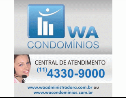 Logo da empresa WA Condomínios
