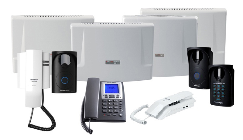 Foto - Antenas Focus Systems - Central de Interfones
