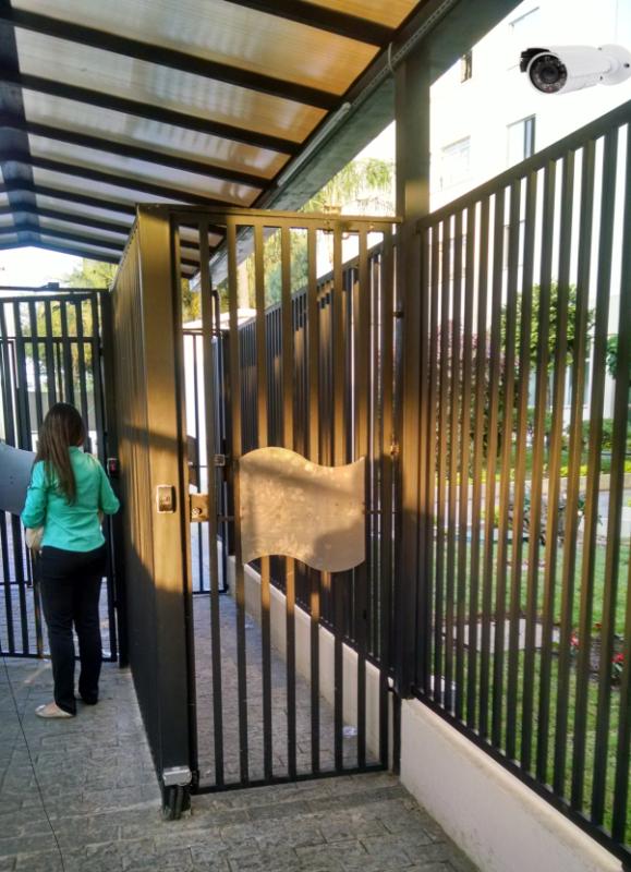 Foto - Controle de Acesso para portões, Eclusas e portas.