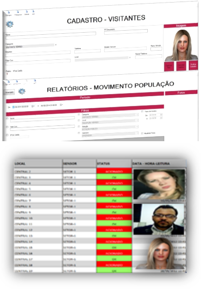Foto - Software de Controle de Acesso e Cadastro de Visitantes, Prestadores, Colaboradores, Moradores