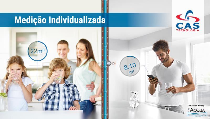 Foto - Medição Individualizada CAS