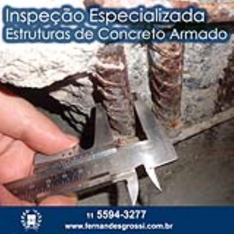 Foto - Inspeção Especializada de Estruturas de Concreto Armado