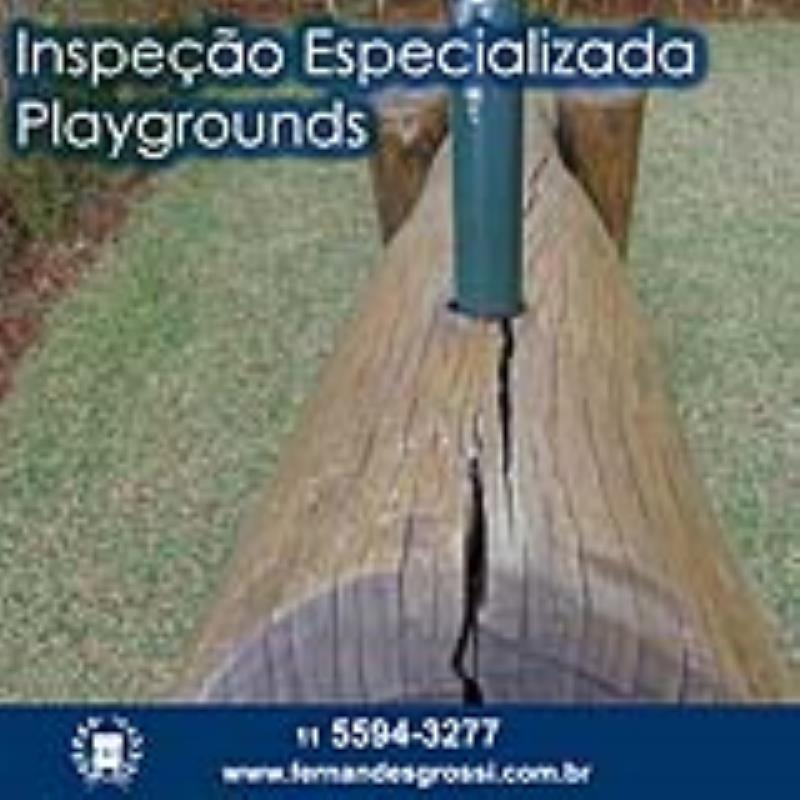 Foto - Inspeção Especializada de Playgrounds