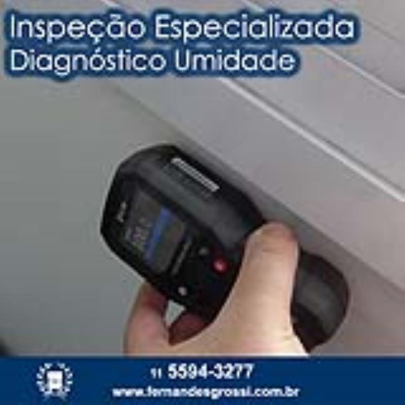 Foto - Inspeção Especializada de Diagnóstico de Umidade