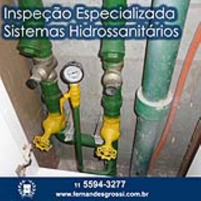Foto - Inspeção Especializada de Sistemas Hidrossanitários