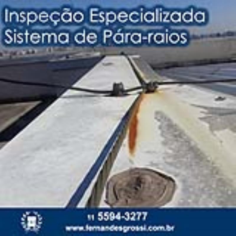 Foto - Inspeção Especializada de SPDA / Pára-raios