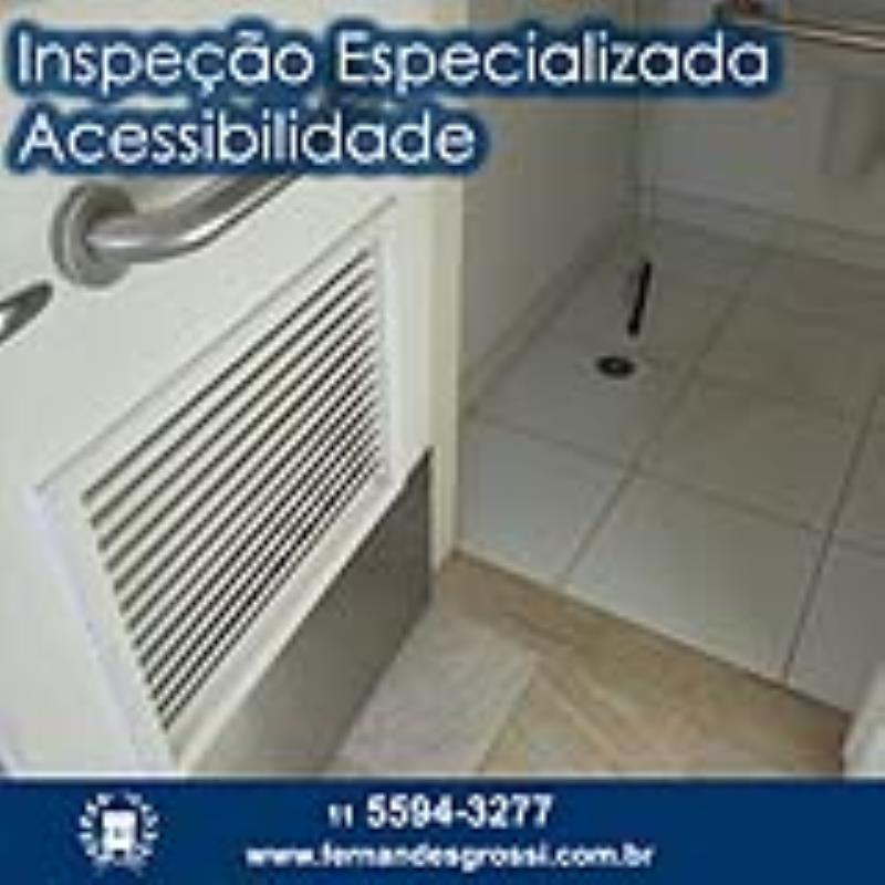 Foto - Inspeção Especializada de Acessibilidade