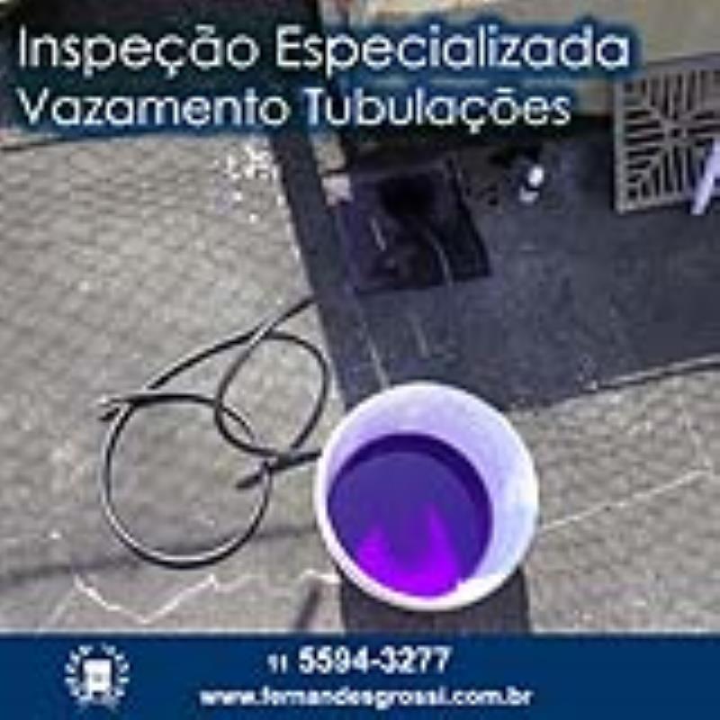 Foto - Inspeção Especializada de Vazamento em Tubulações