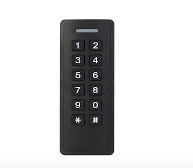 Foto - Controle de acesso de Chaveiro, Cartão de aproximação e senha