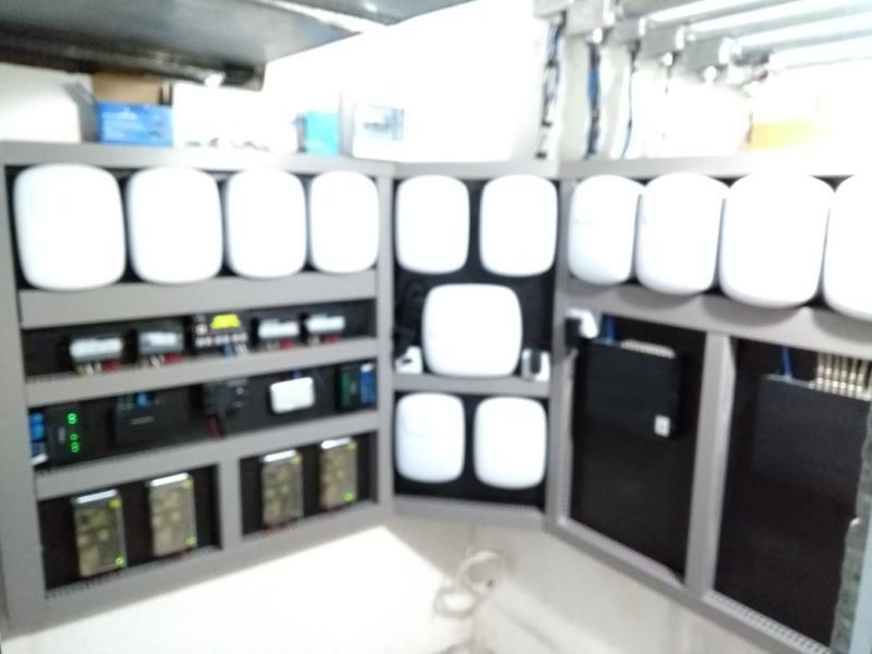 Foto - Nível e Padrão de qualidade das instalações e implantação de Portaria Remota feitas pela MinhaPortaria.Com.
