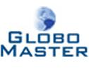 Logo da empresa Globo Master - Trabalho - Liderança - Credibilidade