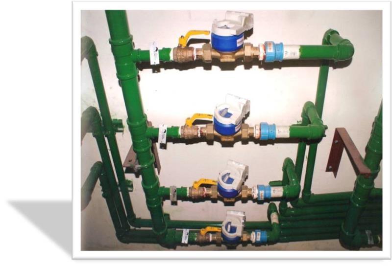 Foto - Medição Individualizada de Água