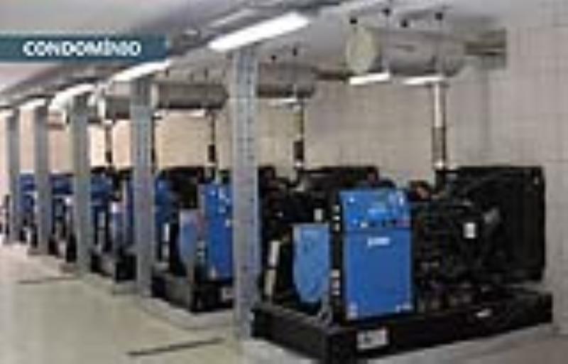 Foto - Grupos Geradores de 20 a 4000 kVA. Soluções para todas aplicações e potências.