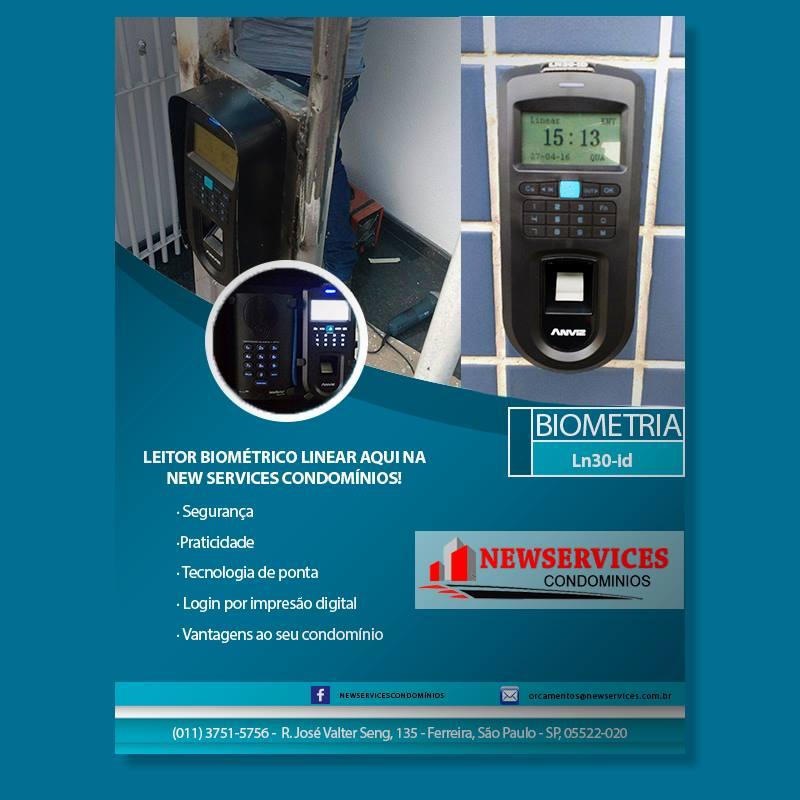 Foto - Sistema de Biometria e Controle de Acesso