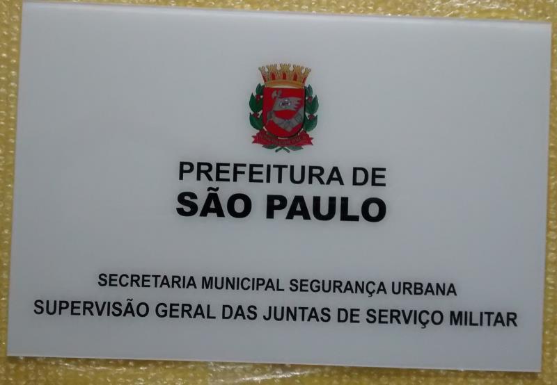 Foto - Placa Acrílico