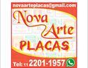Logo da empresa Nova Arte Placas
