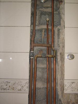 Foto - Instalações para água quente.
