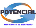 Logo da empresa Potencial Elevadores