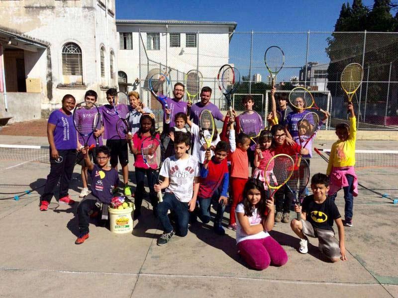 Foto - Ação Social realizada na Casa Madre Assunta Marchetti !