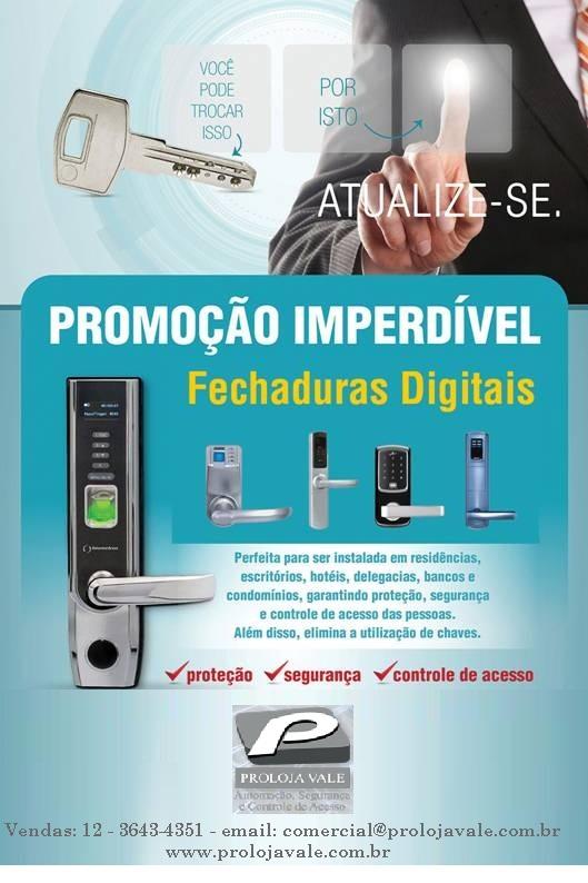 Foto - Fechaduras Eletronicas
