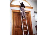 Foto - Escada aberta