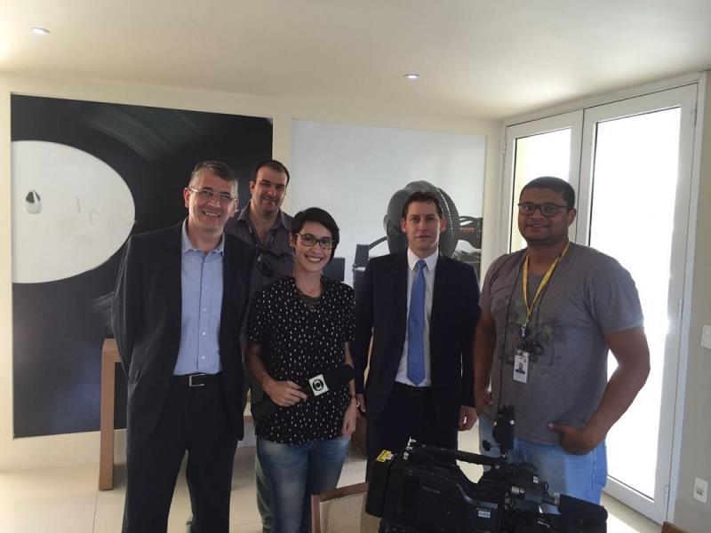 Foto - Participação do Dr. Rodrigo Karpat no Bom Dia SP, da TV Globo