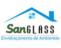 Logo da empresa Sanglass Envidraçamento de Ambientes