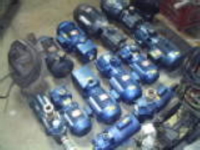 Foto - reforma e reparos de moto bombas de diversos tipos e aplicações