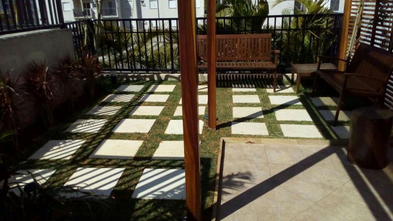 Foto - Jardim condomínio residencial