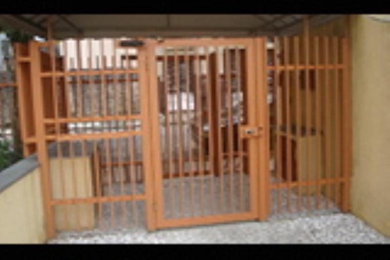 Foto - Fabricamos portões clausura para acesso de pedestres e automóveis