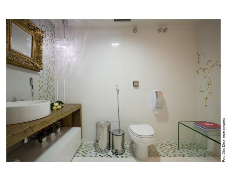Foto - Banheiro Público Fem. - Casa Cor BA.