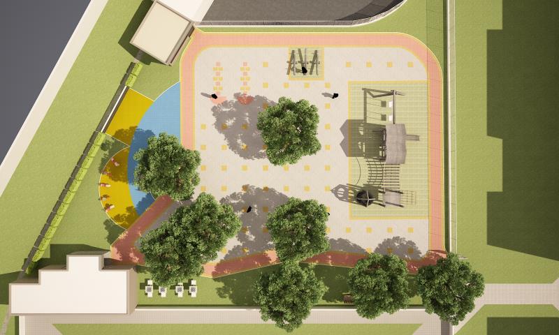 Foto - Condomínio Palmares - Projeto de arquitetura - Playground A