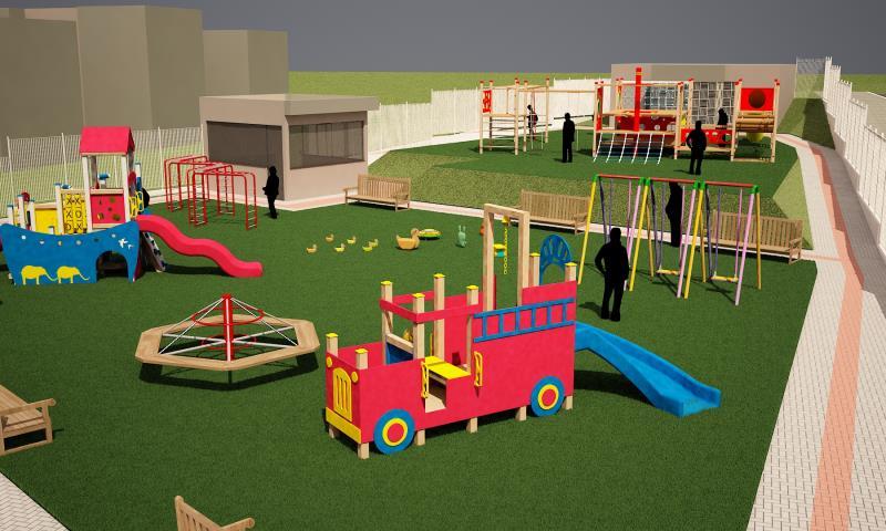 Foto - Condomínio Palmares - Projeto de arquitetura - Playground B