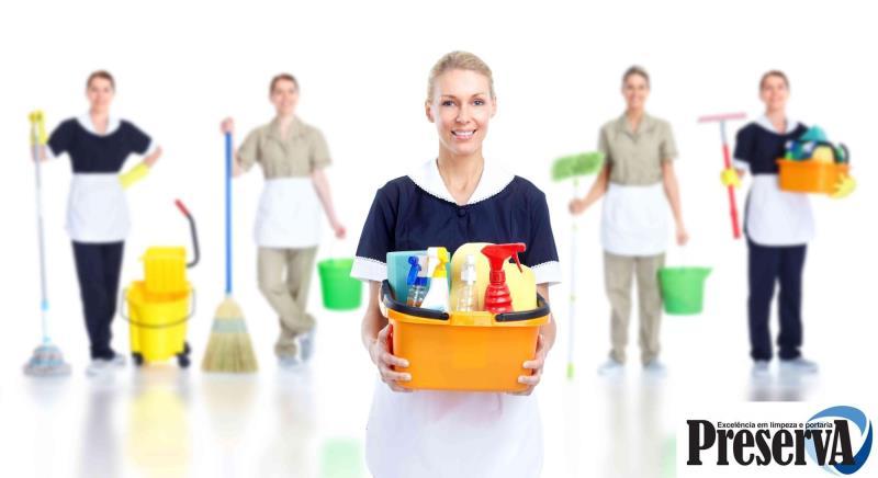 Foto - Serviços de Limpeza e Conservação