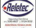 Logo da empresa RELETEC SISTEMAS DE SEGURANÇA ELETRONICA
