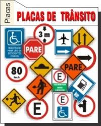 Foto - Placas Transito