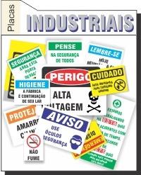 Foto - placas Industriais