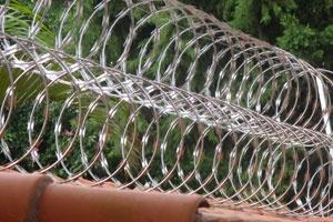 Foto - Cerca concertina dupla de 450mm