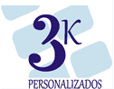 Logo da empresa 3K Personalizados