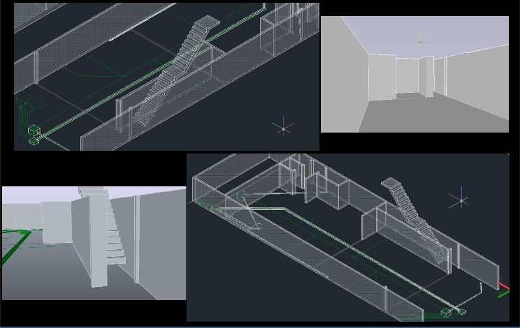 Foto - Projetos em 3D para instalação de equipamentos.