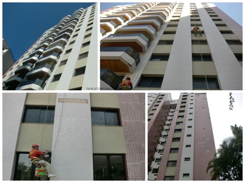 Foto - Edifício Plaza de Toledo - Serviço Executado: Remoção e reposição de pastilha Rejuntamento / Morumbi - SP